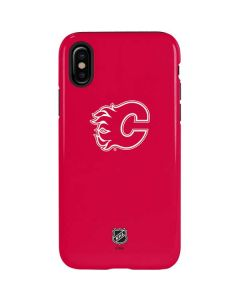 Calgary Flames Color Pop iPhone XS Pro Case