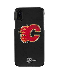 Calgary Flames Distressed iPhone XR Lite Case
