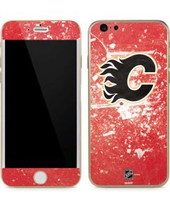 Calgary Flames Frozen iPhone 6/6s Skin