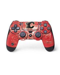 Calgary Flames Frozen PS4 Controller Skin