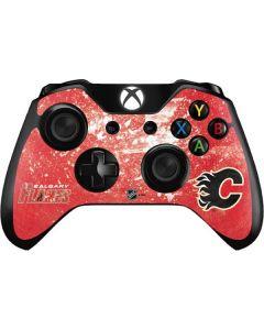 Calgary Flames Frozen Xbox One Controller Skin