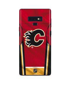 Calgary Flames Home Jersey Galaxy Note 9 Skin
