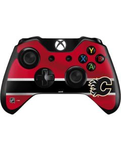 Calgary Flames Jersey Xbox One Controller Skin