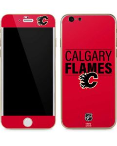 Calgary Flames Lineup iPhone 6/6s Skin