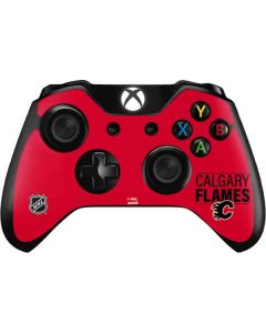 Calgary Flames Lineup Xbox One Controller Skin