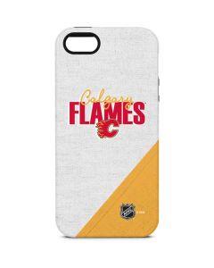 Calgary Flames Script iPhone 5/5s/SE Pro Case
