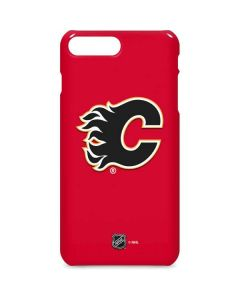 Calgary Flames Solid Background iPhone 8 Plus Lite Case