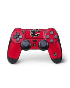 Calgary Flames Solid Background PS4 Pro/Slim Controller Skin
