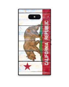 California Flag Light Wood Razer Phone 2 Skin