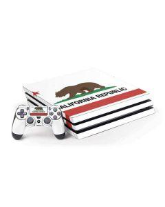 California Republic PS4 Pro Bundle Skin