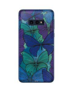 California Watercolor Butterflies Galaxy S10e Skin