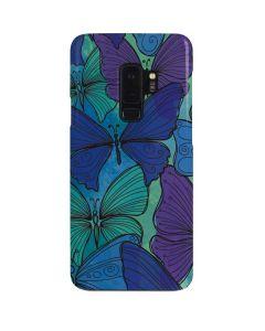 California Watercolor Butterflies Galaxy S9 Plus Lite Case