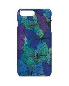 California Watercolor Butterflies iPhone 8 Plus Lite Case