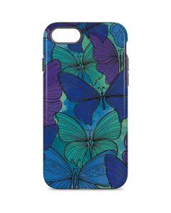 California Watercolor Butterflies iPhone 8 Pro Case