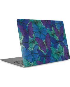 California Watercolor Butterflies Apple MacBook Air Skin