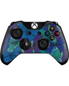 California Watercolor Butterflies Xbox One Controller Skin