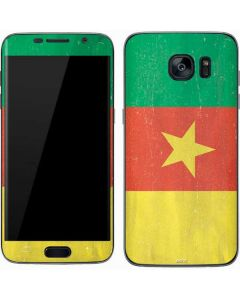 Cameroon Flag Distressed Galaxy S7 Skin