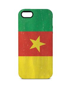 Cameroon Flag Distressed iPhone 5/5s/SE Pro Case