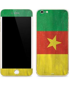 Cameroon Flag Distressed iPhone 6/6s Plus Skin