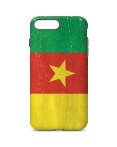 Cameroon Flag Distressed iPhone 7 Plus Pro Case