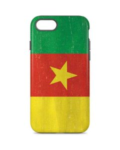 Cameroon Flag Distressed iPhone 7 Pro Case