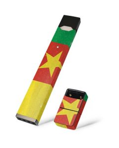 Cameroon Flag Distressed Juul E-Cigarette Skin