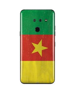 Cameroon Flag Distressed LG G8 ThinQ Skin