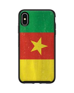 Cameroon Flag Distressed Otterbox Symmetry iPhone Skin