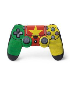 Cameroon Flag Distressed PS4 Controller Skin