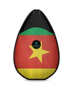 Cameroon Flag Distressed Suorin Drop Vape Skin