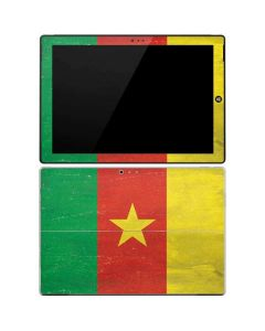 Cameroon Flag Distressed Surface Pro 3 Skin