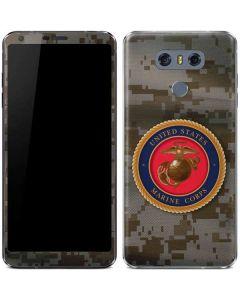Camo Marine Corps LG G6 Skin