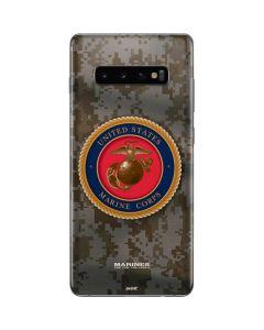 Camo Marine Corps Galaxy S10 Plus Skin