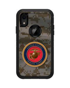 Camo Marine Corps Otterbox Defender iPhone Skin