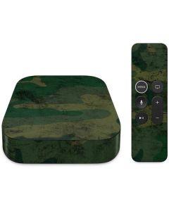 Camouflage Apple TV Skin
