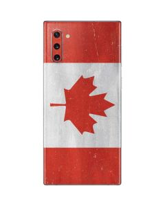 Canada Flag Distressed Galaxy Note 10 Skin