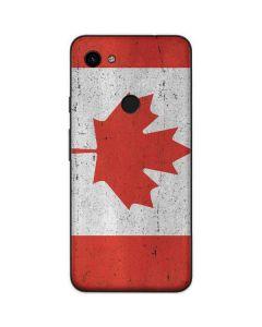 Canada Flag Distressed Google Pixel 3a Skin