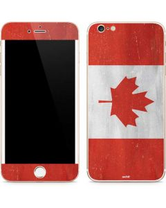Canada Flag Distressed iPhone 6/6s Plus Skin