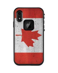 Canada Flag Distressed LifeProof Fre iPhone Skin