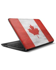Canada Flag Distressed HP Notebook Skin