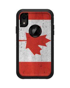 Canada Flag Distressed Otterbox Defender iPhone Skin