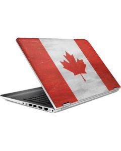 Canada Flag Distressed HP Pavilion Skin