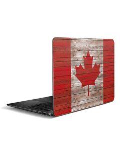 Canadian Flag Dark Wood Zenbook UX305FA 13.3in Skin