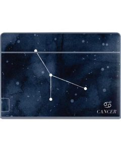 Cancer Constellation Galaxy Book Keyboard Folio 12in Skin