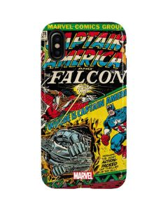 Captain America And Falcon iPhone XS Pro Case