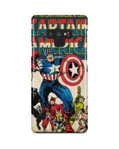Captain America Big Premier Issue Galaxy Note 9 Lite Case