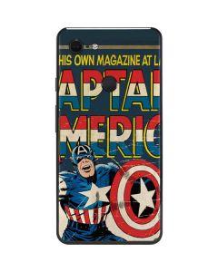 Captain America Big Premier Issue Google Pixel 3 XL Skin