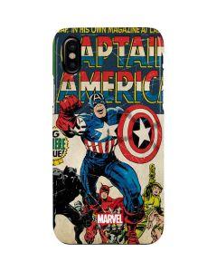 Captain America Big Premier Issue iPhone XS Lite Case