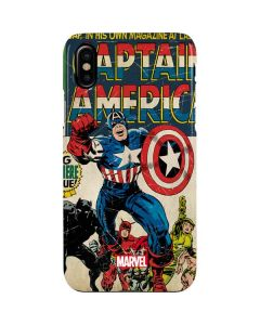 Captain America Big Premier Issue iPhone XS Max Lite Case