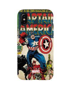Captain America Big Premier Issue iPhone XS Pro Case